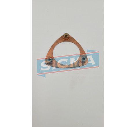 Accueil - Cale de 1/2 coquille inférieure - pièces détachées SIMCA