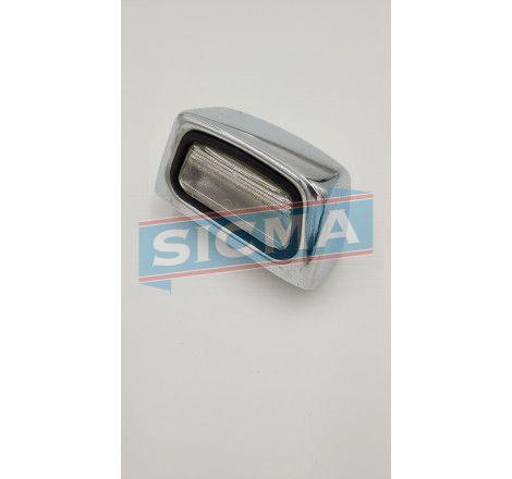 Accueil - Cabochon d'éclaireur de plaque chromé - pièces détachées SIMCA